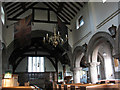 SJ8067 : Interior of St Peter's church by Stephen Craven