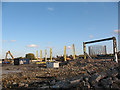 TQ3879 : Demolition of Delta Wharf (2) by Stephen Craven