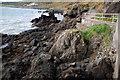 J4892 : The coast near Whitehead (1) by Albert Bridge