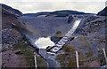 SN7948 : Llyn Brianne Dam spillway by John Firth