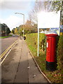 SY9993 : Creekmoor: postbox № BH17 7, Northmead Drive by Chris Downer