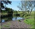NS6963 : Bredisholm, North Calder Water by Robert Murray