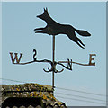 TL5247 : Weather vane, South Road by Keith Edkins