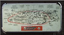 NS5864 : Glasgow subway pictorial map by Thomas Nugent