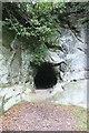 SJ8577 : Trial level, Church Quarry by Dave Dunford