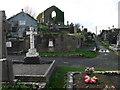 R1388 : Ennistymon Cemetery by Eirian Evans