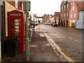 TF9143 : Wells-next-the-Sea: telephone box in Freeman Street by Chris Downer
