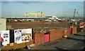J3474 : Weir and cross-harbour links. Belfast (11) by Albert Bridge