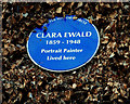 Photo of Clara Ewald blue plaque