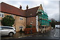 TR1859 : House being renovated, King St, Fordwich by Nigel Chadwick