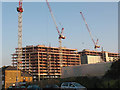 TQ3777 : Copperas Street: apartments in construction by Stephen Craven