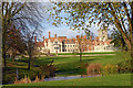 SP7610 : Dinton Hall, Dinton  south elevation by John Fielding