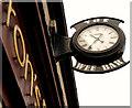 J0890 : Clock, Randalstown by Albert Bridge