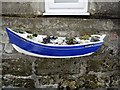 NZ7619 : Coble fishing boat planter, Boulby by Andrew Curtis