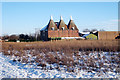 TQ7445 : Oast House at Little Mill Farm, Underlyn Lane, Marden, Kent by Oast House Archive