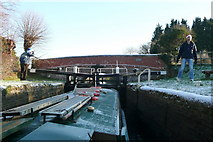 SU3568 : Icy Dun Mill lock by Graham Horn