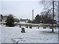 SP8018 : Hardwick Churchyard by John Firth