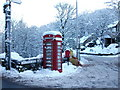 SD9806 : Phone Box on Ladcastle Road Dobcross by Paul Anderson