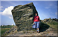 SW7111 : Large rock near Bass Point by Dr Neil Clifton