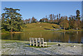TQ1263 : The Lake, Claremont Landscape Garden by Ian Capper