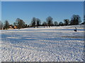 SP2872 : Abbey Fields in the snow by E Gammie