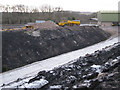 SX8476 : Track out of Newbridge ball clay quarry by Robin Stott