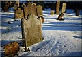 J4669 : Gravestones, St Mary's Church of Ireland by Rossographer