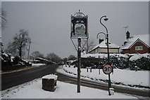 TQ5643 : Village Sign, Bidborough by N Chadwick