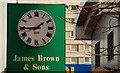 J4074 : Canavan clock, Belfast by Albert Bridge