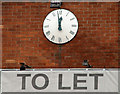 J3474 : Clock, Belfast by Albert Bridge