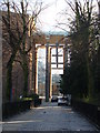 SP3379 : Approaching Coventry Cathedral by Ruth Sharville