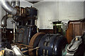 SE0642 : Belliss & Morcom steam engine, Royd Works, Beechcliffe by Chris Allen