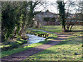 SO8692 : Wom Brook Walk at Giggety, Wombourne, Staffordshire by Roger  Kidd