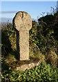 SX0563 : St Ingunger's Cross by Derek Harper