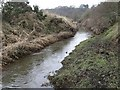 Dist:0.4km<br/>In the upper Kelvin Valley. After its confluence with the Shawend Burn it becomes far more like the drainage canal it was designed to be.
