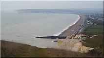 TV4898 : Seaford Bay, Sussex by Peter Trimming