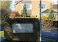 ST6766 : 2010 : Sign for Manor Lawns , Saltford by Maurice Pullin
