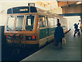 SE2933 : Early railbus at Leeds by Stephen Craven