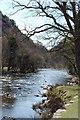 SH5947 : Beddgelert : Afon Glaslyn by Ken Bagnall