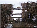 TQ8431 : Broken stile on High Weald Landscape Trail by David Anstiss