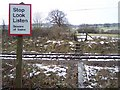 TQ8733 : Level crossing near Cranbrook Road Cemetery by David Anstiss