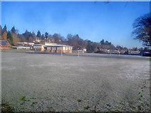 SO2956 : Playing fields at Lady Hawkins' High School by Trevor Rickard