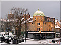 NU1813 : Alnwick: early-morning snow : Week 7