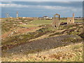 SW3632 : Mining landscape near Botallack by Rod Allday