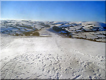 SO2455 : Snow-covered Hergest Ridge by Trevor Rickard