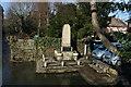 TQ5261 : War Memorial by the River Darent, Shoreham by N Chadwick