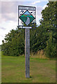 TQ4161 : Leaves Green village sign - south side by Ian Capper