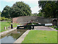 SP1592 : Minworth Bottom Lock, No 3, Birmingham by Roger  Kidd
