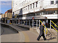 SJ8498 : Market Street tram stop by David Dixon