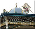NZ2465 : Bandstand, Exhibition Park (detail) by Andrew Curtis